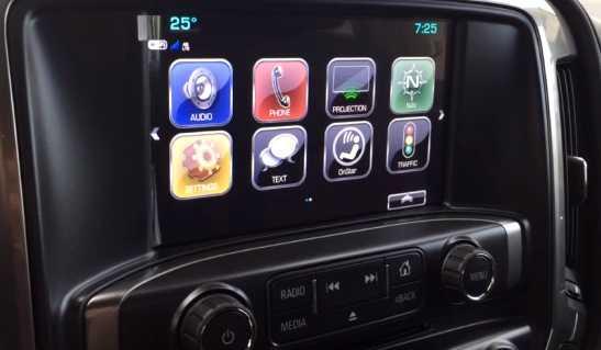 Chevrolet silverado 2018 Cabina con internet