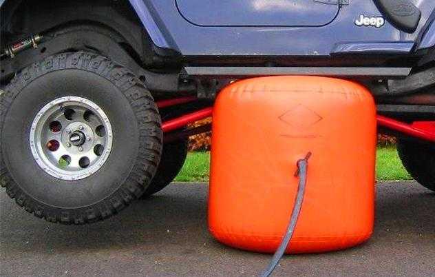 accesorios para camionetas 4x4 Gato hinchale o inflable