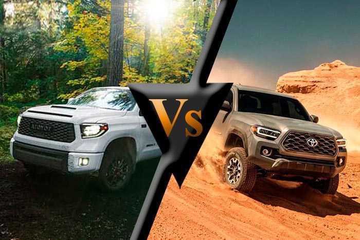 Toyota Tundra vs Tacoma