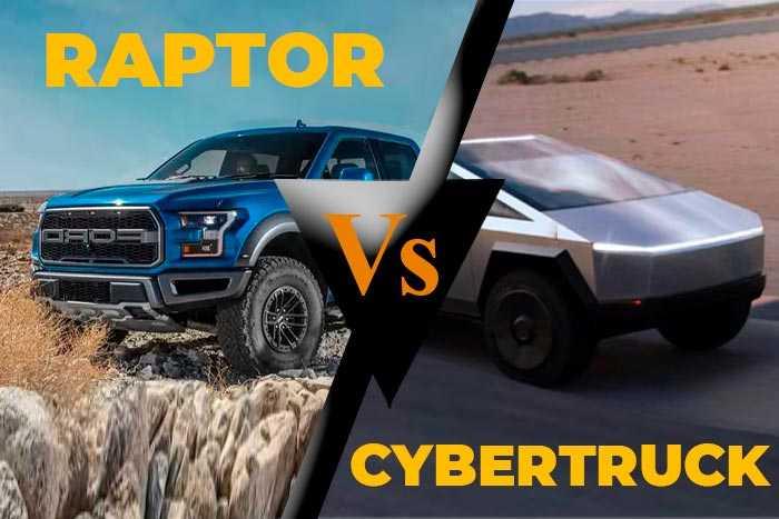 Tesla Cybertruck vs Ford f150 2020