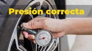 presion correcta llanta neumatico