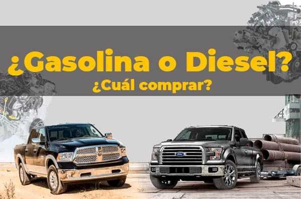 Diésel o Gasolina ¿Qué coche comprar?