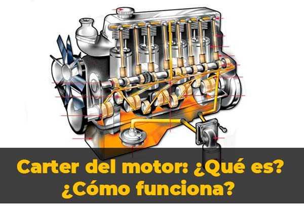 Cárter del motor ¿qué es? ¿cómo funciona? Partes