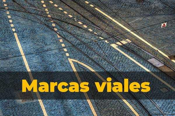 Marcas viales: Lineas y señales de piso