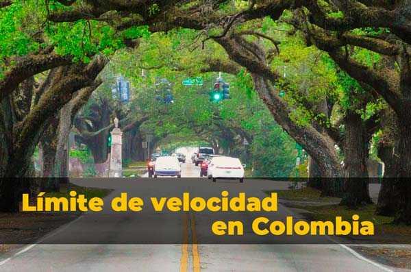 Límite de velocidad Colombia