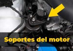 soportes del motor del coche