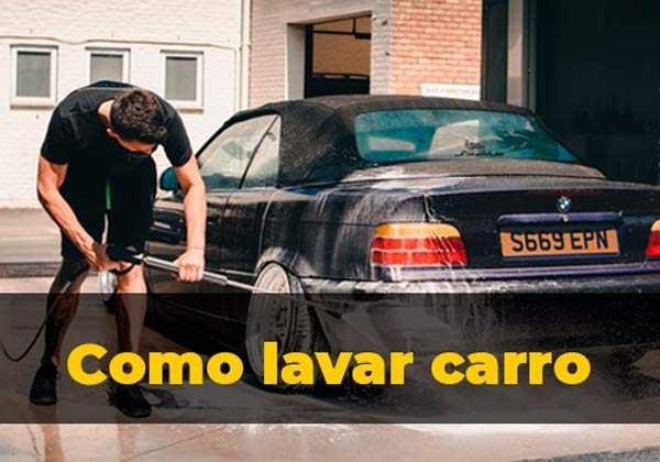 Como lavar un coche para que luzca como nuevo