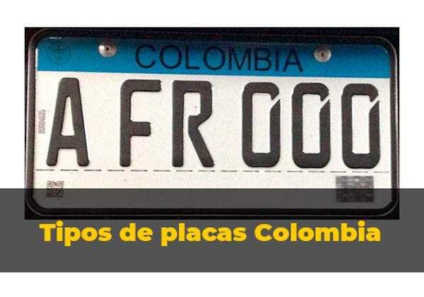 tipos-de-placas-colombia