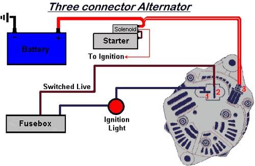 alternador de 3 cables